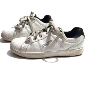 Other - white and black sneakers and1 shoes size 2 kids